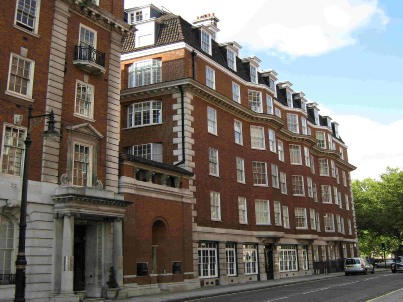 Bromley Architect - Grosvenor Sq Mayfair London