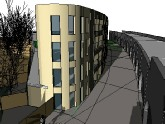 Project 08 - Mixed Use Development, Hackney, London