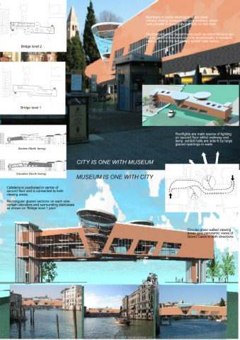 VENICE MUSEUM bridge - abp Architects-entry page